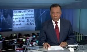 Petrobras anuncia redução no preço dos combustíveis nas refinarias