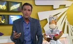 Cavalinho comenta goleada do São Paulo sobre o Santo André