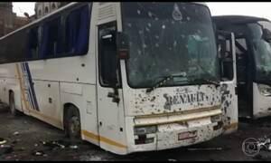 Ataque suicida deixa mais de 40 mortos em Damasco