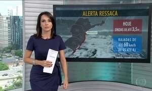 Tem alerta de ressaca do Chuí (RS) até Paranaguá (PR)