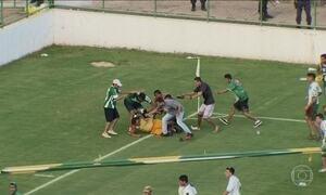 Estádio Bezerrão (DF) é interditado após confusão em jogo