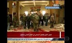 Explosões em Damasco deixam 31 mortos