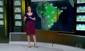 Previsão é de chuva para o Norte do Brasil