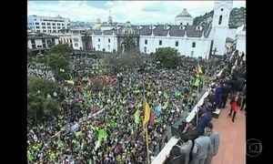 Presidente do Equador adere a pedido de recontagem de votos