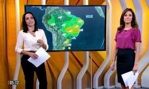 Confira a previsão do tempo para a segunda-feira (17)