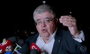 Michel Temer discute a reforma da Previdência com ministros e políticos
