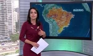 Veja a previsão do tempo para esta terça (18) em todo o Brasil