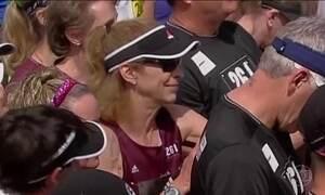 Kathrine Switzer volta a disputar maratona após cinco décadas