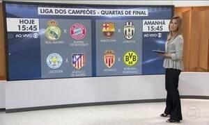 Liga dos Campeões tem semana decisiva com jogos de volta das quartas de final