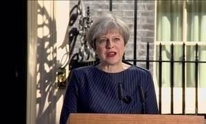 Theresa May convoca eleições antecipadas na Grã-Bretanha