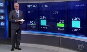 FMI prevê que Brasil vai crescer 0,2% este ano