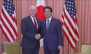 Mike Pence visita o Japão nesta terça-feira (18)