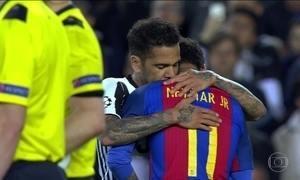 Juventus empata com o Barcelona e está nas semifinais da Liga dos Campeões