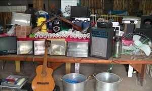 Polícia recupera objetos de escola arrombada 21 vezes em meio ano, no RS