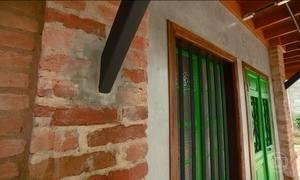Hoje em Casa mostra como usar o tijolo no acabamento de uma casa