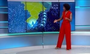 Confira a previsão do tempo para o domingo (23) em todo o país