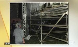 Seis pessoas ficam feridas em show de Luan Santana em Catanduva (SP)
