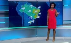 Região Sul do país tem previsão de chuva para esta quarta-feira (26)