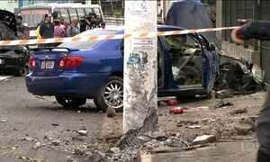 Polícia investiga se motoristas envolvidos em acidente participavam de pega em SP