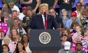 Trump falta jantar com correspondentes da Casa Branca