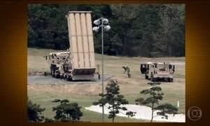Sistema antimísseis instalado na Coreia do Sul já está funcionando, dizem EUA