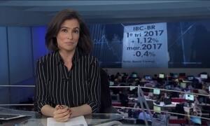 Após 2 anos de recessão, economia cresce 1,12% no primeiro tri, diz BC