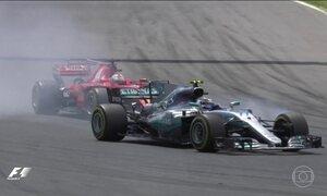 Líderes da Fórmula 1 promoveram duelo eletrizante durante GP da Espanha