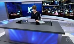 Jornal da Globo - Edição de segunda-feira 15/05/2017