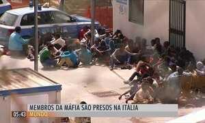 Polícia da Itália descobre máfia infiltrada em centro de imigrantes da Europa
