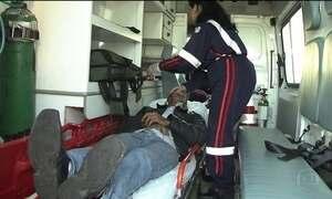 Vítimas de acidentes sofrem com demora no atendimento, em São Paulo