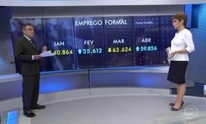 Carlos Alberto Sardenberg comenta a criação de 60 mil novas vagas em abril