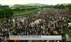 Nicolás Maduro decreta novo estado de exceção e emergência econômica na Venezuela