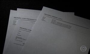 MP apresenta documentos que registram reuniões entre Lula e diretores da Petrobras