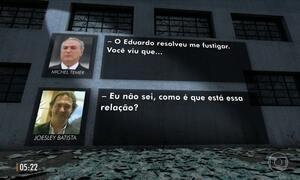 STF torna públicos trechos da conversa entre Michel Temer e o dono da JBS