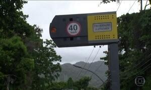Lei proíbe radar de trânsito em áreas consideradas de risco, no RJ