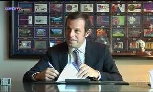 Ex-presidente do Barcelona Sandro Rosell é preso acusado de lavagem de dinheiro