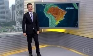 Veja a previsão do tempo para o Brasil nesta quarta-feira (24)