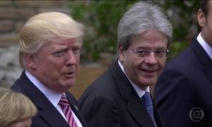 Donald Trump encerra 1ª viagem internacional com reunião do G7 na Itália
