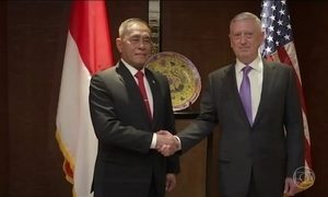 EUA advertem que não vão aceitar processo de militarização no mar da China Meridional