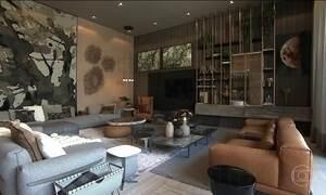 Materiais naturais como madeira, pedras e argila são destaques na Casa Cor