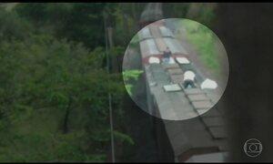 Presos 20 suspeitos de integrar bando que rouba trens no interior de SP
