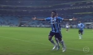 Grêmio derrota o Bahia pelo Brasileirão