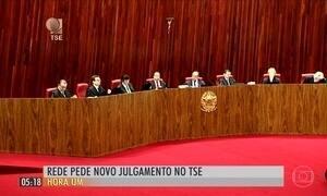 Rede Sustentabilidade pede anulação do julgamento da chapa Dilma-Temer