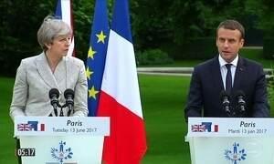 França e Reino Unido lançam plano conjunto de combate ao terrorismo