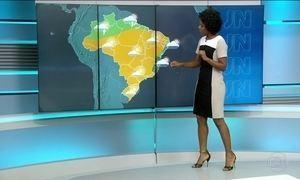 Confira a previsão do tempo para a quinta-feira (15) em todo o país