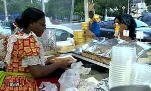 Barracas de comidas juninas garantem lucro para comerciantes em SE
