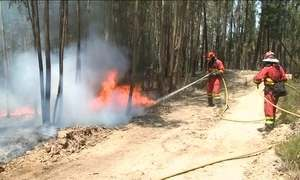 Autoridades portuguesas tentam esclarecer início do incêndio florestal