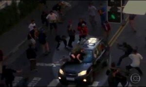 Polícia de São Paulo procura motorista que atropelou skatistas