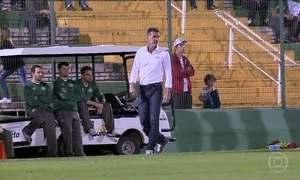 Pai e filho se enfrentam pela primeira vez na história do Brasileirão