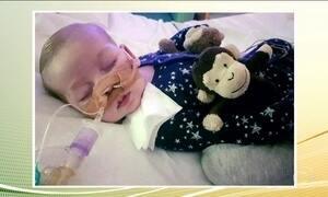 Justiça decide desligar aparelhos de bebê britânico portador de doença rara